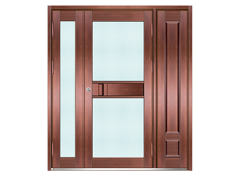 不锈钢仿铜门