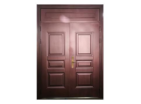锌钢全封闭式仿铜门