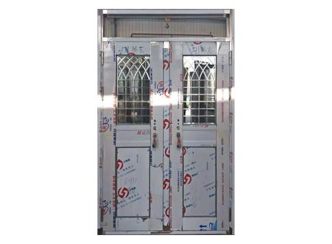 异形不锈钢教室门