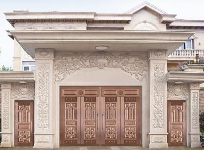 豪宅别墅铜门