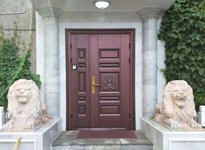 锌钢仿铜门