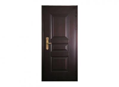 单开锌钢仿铜门