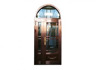圆弧不锈钢仿铜门