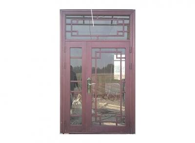 锌钢仿铜玻璃门