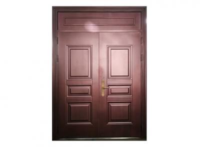 呼和浩特锌钢全封闭式仿铜门