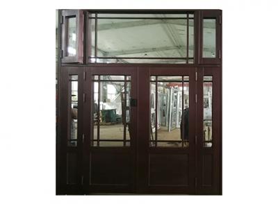 活动窗户锌钢仿铜门