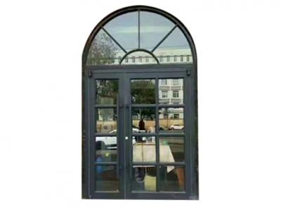 圆弧铝型材单元门