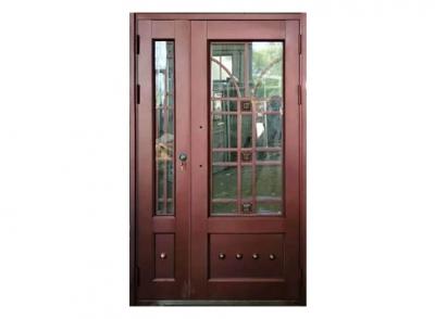 呼和浩特锌钢仿铜单元门