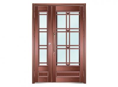不锈钢仿铜单元门